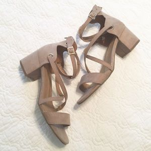 d25f3578c09f New Directions Persis Taupe Dress Sandal